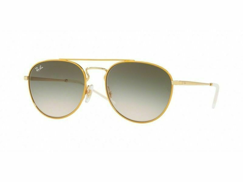 Ray Ban Sunglasses RB3589 90582C 55MM Yellow & Gold / Green Gradient Lens 1